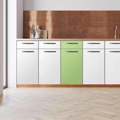 Küchenfolie - Unterschrank 40cm Breite - Hellgrün Light