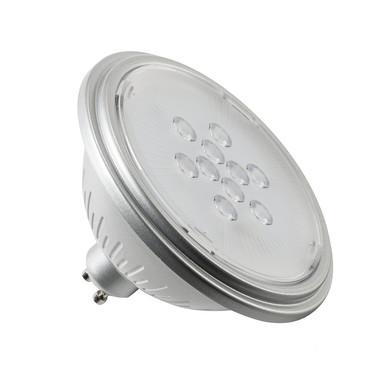 LED Leuchtmittel ES111 GU10 7W 3000K in Silber 25°