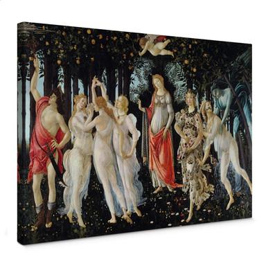 Leinwandbild Botticelli - Der Frühling