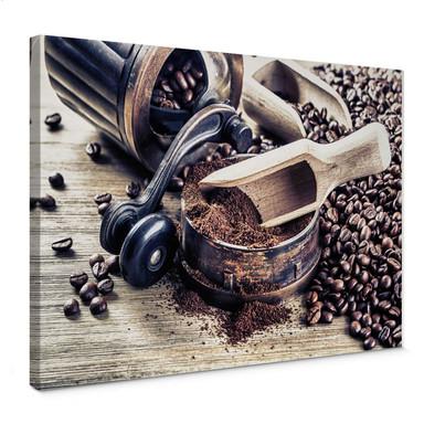 Leinwandbild Kaffeeduft