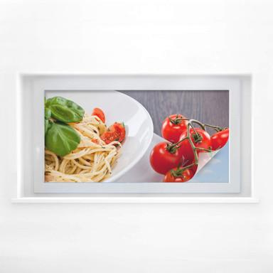 Sichtschutzfolie Pasta Italiano - Panorama