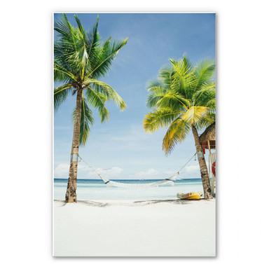 Wandbild - Hammock in Paradise