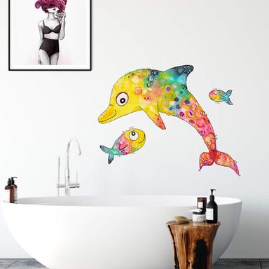 Wandtattoo Hagenmeyer - Delfin