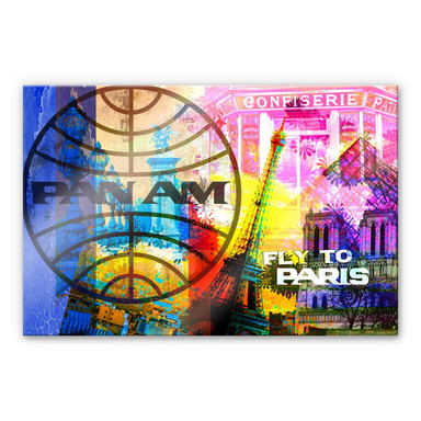 Acrylglasbild PAN AM - Paris