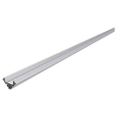 Eck-Profil EV-04-12 für 12 - 13.3 mm LED Stripes, Silber-matt, eloxiert, 2000 mm