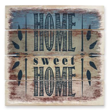 Holzbild Home Sweet Home 1