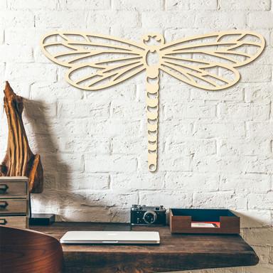 Holzkunst Pappel - Origami Libelle