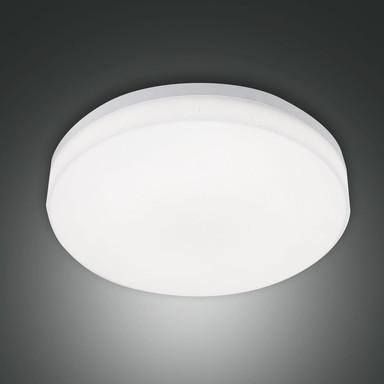 LED Deckenleuchte Trigo in Weiss 27W 2150lm IP65 mit Bewegungsmelder