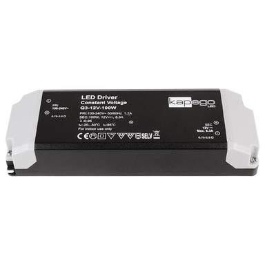 Netzgerät in Schwarz und Grau 12V 100W