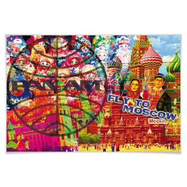 Poster PAN AM - Moskau