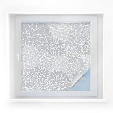 Sichtschutzfolie Mosaic Flower