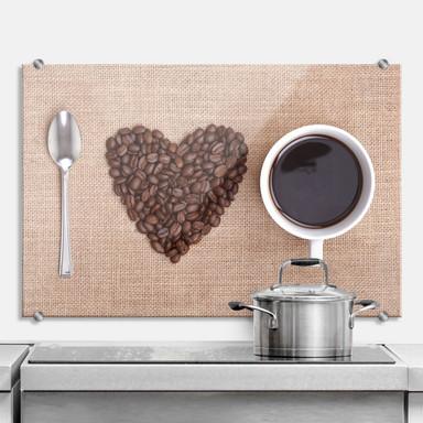 Spritzschutz I Love Coffee