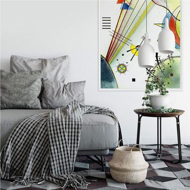 Wallprint Kandinsky - Deutliche Verbindung