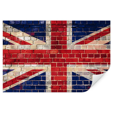 Wallprint Union Jack Mauer
