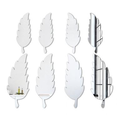 Wandspiegel Feder-Set