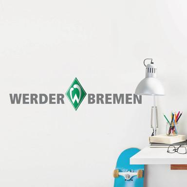Wandsticker Werder Bremen Schriftzug