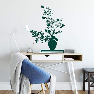 Wandtattoo Ikebana