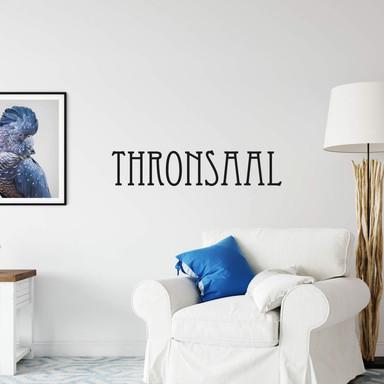 Wandtattoo Thronsaal