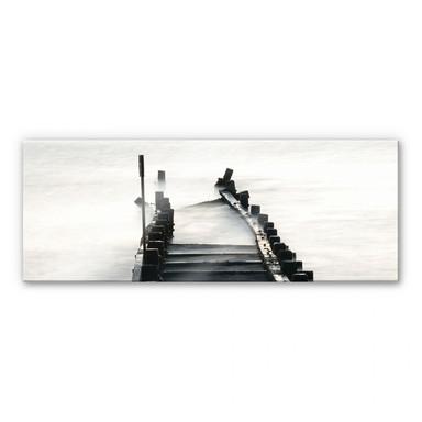 Acrylglasbild Way to nowhere - Panorama