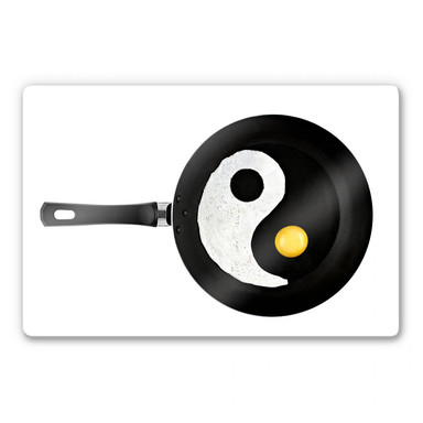 Glasbild Lavsen - Balanced Cuisine