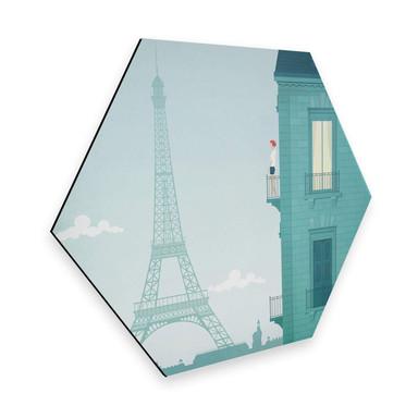 Hexagon - Alu-Dibond - Rivers - Paris