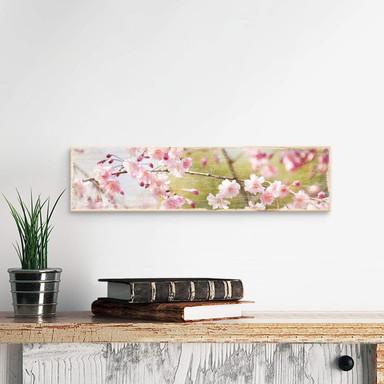Holzschild Cherry Blossoms - Bild 1