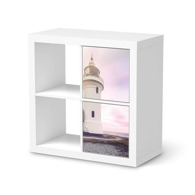Klebefolie IKEA Expedit Regal 2 Türen (hoch) - Lighthouse