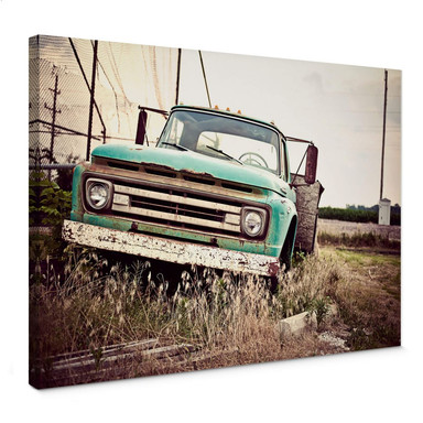 Leinwandbild American rusted Truck