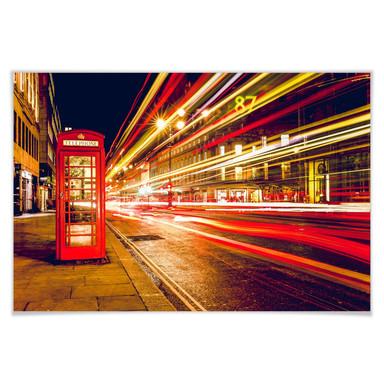 Poster London City Lights