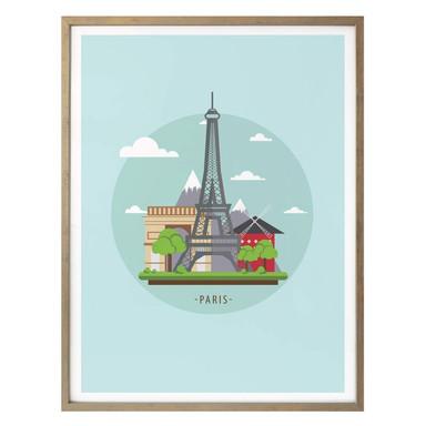 Poster - Visit Paris