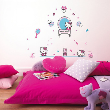 Wandsticker-Set Hello Kitty 50-teilig - Bild 1
