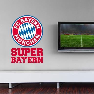 Wandsticker Super Bayern