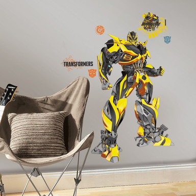 Wandsticker Transformers Bumblebee - Bild 1