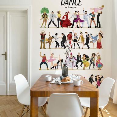 Fototapete Tohmé - Dance Final - 192x260cm - Bild 1