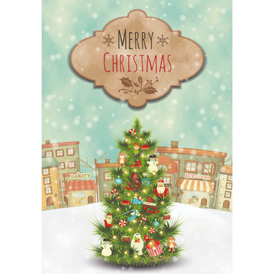 Gutschein Weihnachten - Weihnachtsbaum