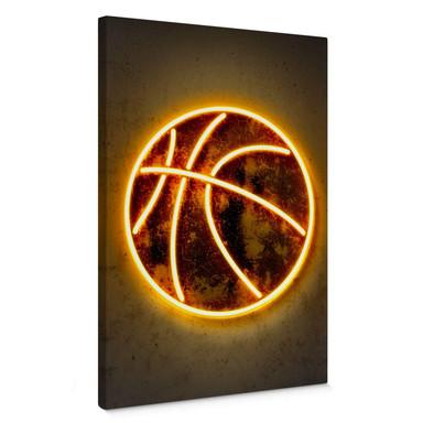 Leinwandbild Mielu - Basketball