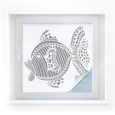 Sichtschutzfolie Mosaic Fish