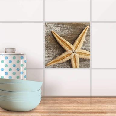 Fliesenaufkleber - Starfish