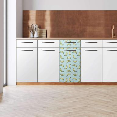 Küchenfolie - Unterschrank 40cm Breite - Hey Banana