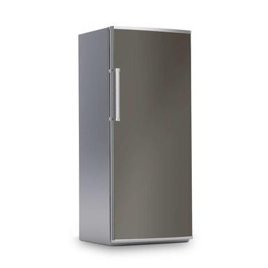 Kühlschrankfolie 60x150cm - Braungrau Dark- Bild 1