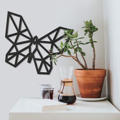 MDF - Holzkunst Origami Schmetterling