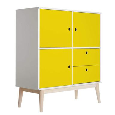 Möbelfolie - Uni Gelb