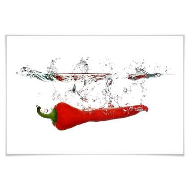 Poster Chilischote