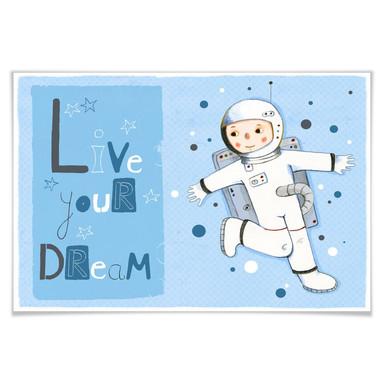 Poster Loske - Live your Dream