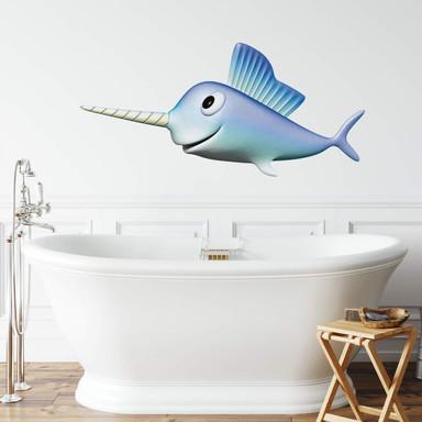Wandtattoo Agullo - Schwertfisch