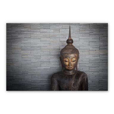 Alu Dibond Bild Thailand Buddha