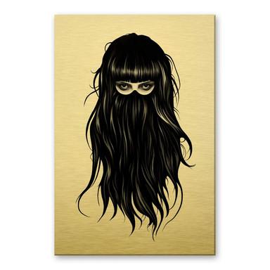 Alu-Dibond-Goldeffekt Ireland - It-Girl