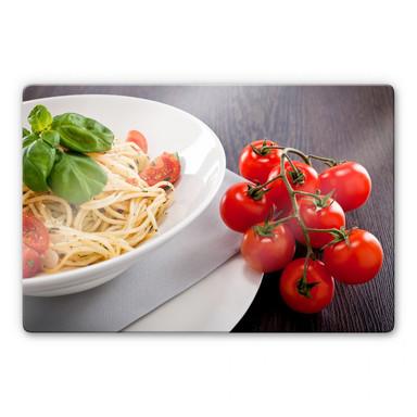 Glasbild Pasta Italiano