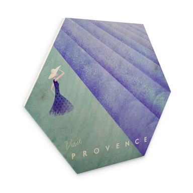 Hexagon - Holz Rivers - Provence