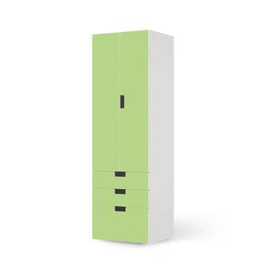 Klebefolie IKEA Stuva / Malad - 3 Schubladen und 2 grosse Türen - Hellgrün Light- Bild 1